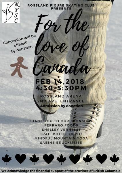 Rossland Figure Skating Club Year End Show | Bhubble